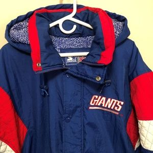 new styles 0272d d0b1f Vintage 90s New York Giants Large Starter Jacket
